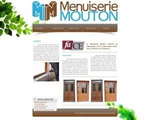 Site Internet Menuiserie Mouton