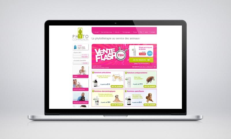 Site Internet Phyto Compagnon