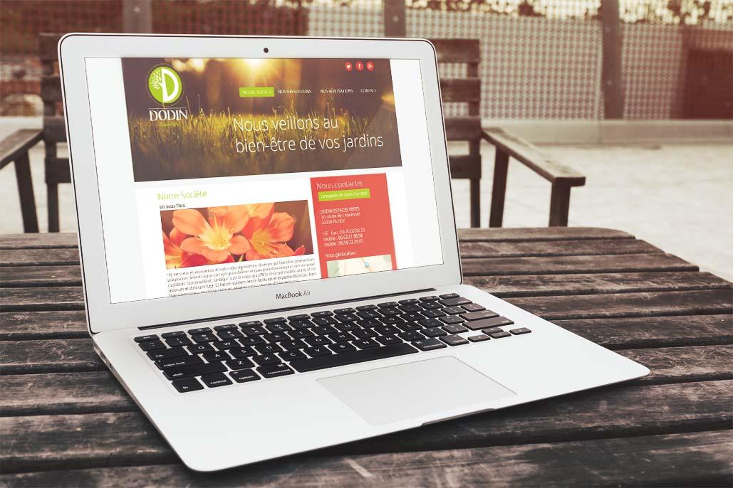 Site Internet Dodin Espaces Verts