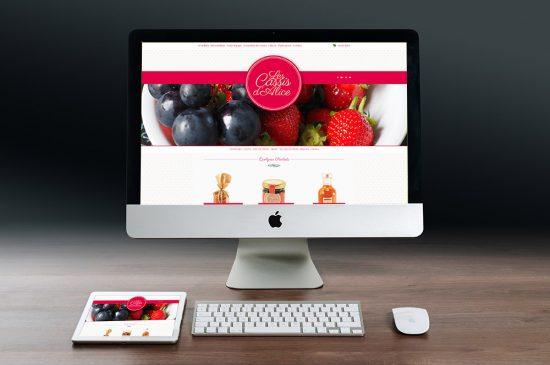Site Internet Les Cassis d'Alice