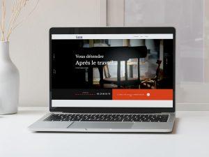 Création du Site internet du bar Le Parisien