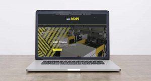 Site Internet www.m2pi-industrie.com, spécialiste injection plastique