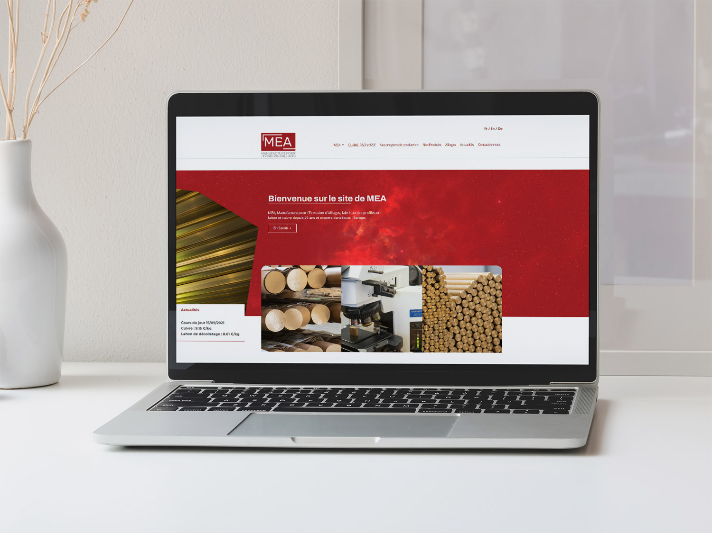 Site Internet Industrie MEA